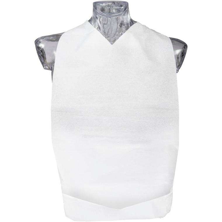 Bionedbrydelig spisestykke, Finess Hygiene, 2-lags, 67x37cm, hvid, bioplast limlaminering, engangs