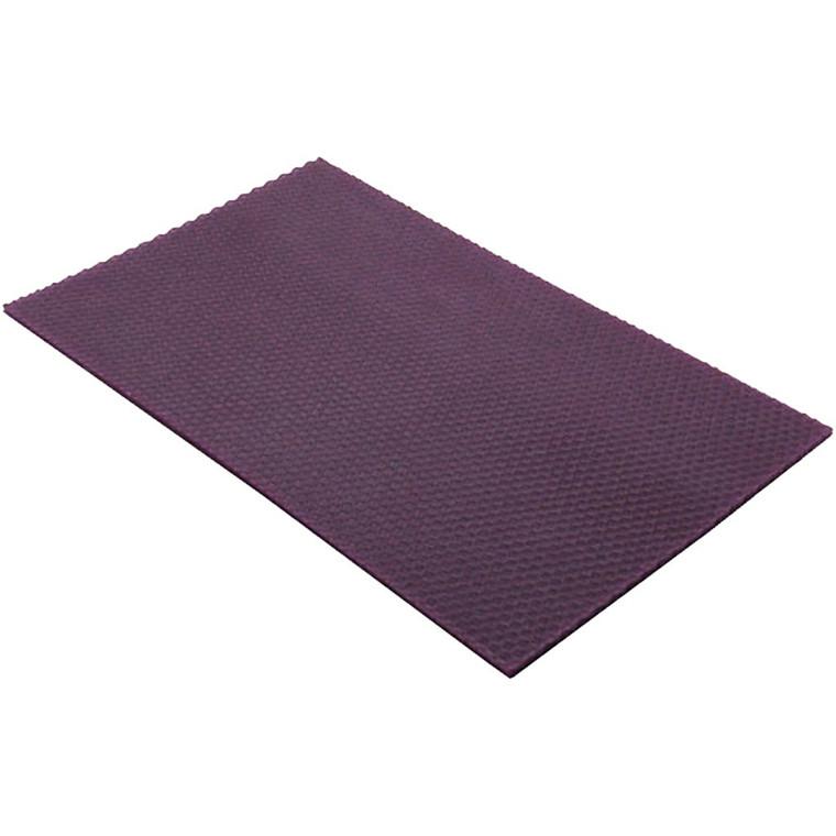 Bivoksplade 20 x 33 cm tykkelse 2 mm   Violet