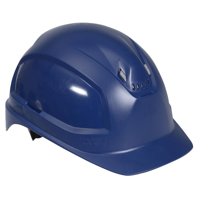 Blå Sikkerhedshjelm - Uvex Pheos B - Størrelse 51 til 61 cm
