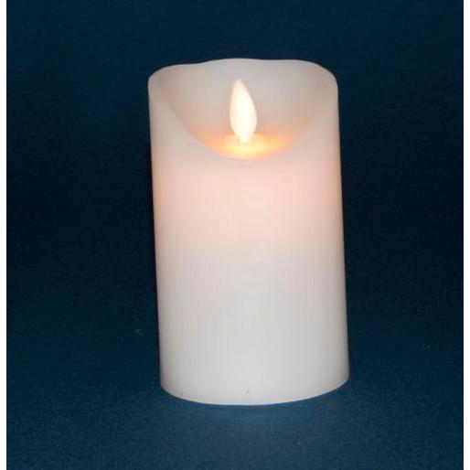 Bloklys med LED 12 cm - eksklusiv batteri