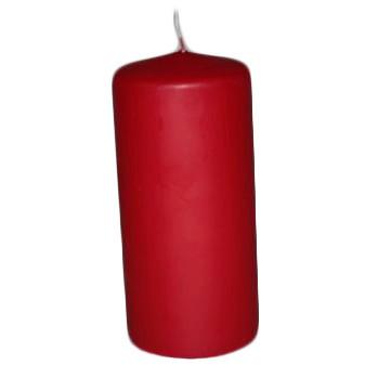 Bloklys rød 7 x 15 cm 55 time - 12 stk