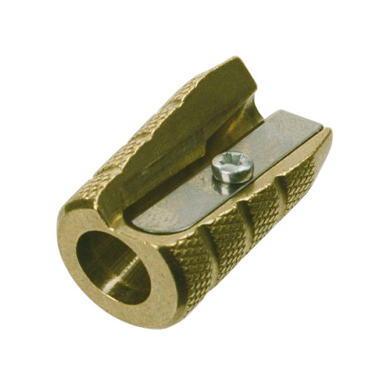 Blyantspidser 604 granatform - Messing