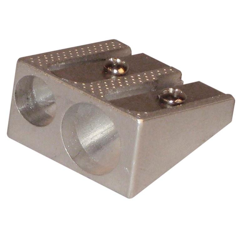 Blyantspidser aluminium Office DEPOT - Dobbelt hul