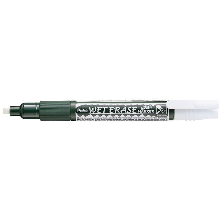 Boardmarker PENTEL SMW26 CALC hvid 2-4mm Wet Erase