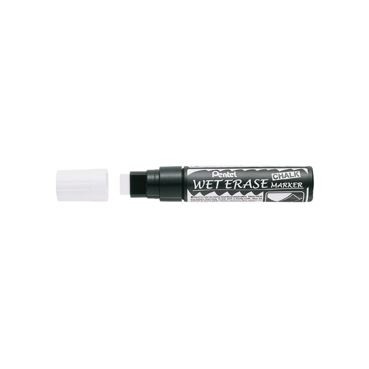 Boardmarker PENTEL SMW56 CALC hvid 10-15mm Wet Erase