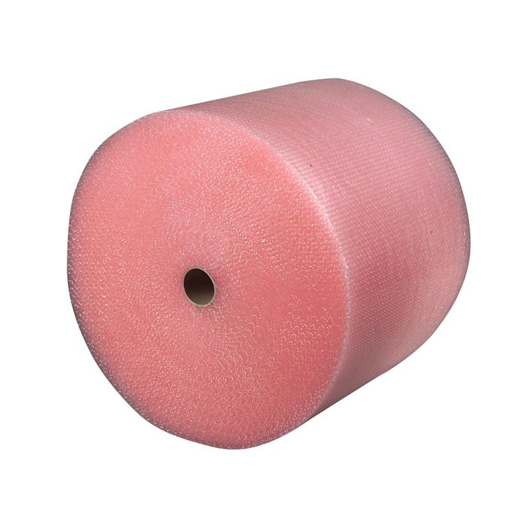 Bobleplast - antistatisk 100 cm x 50 m rosa