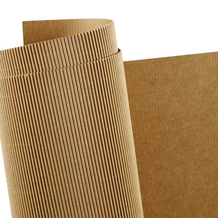 Bølgekarton, ark 50x70 cm, vægt 120 g, 10ark