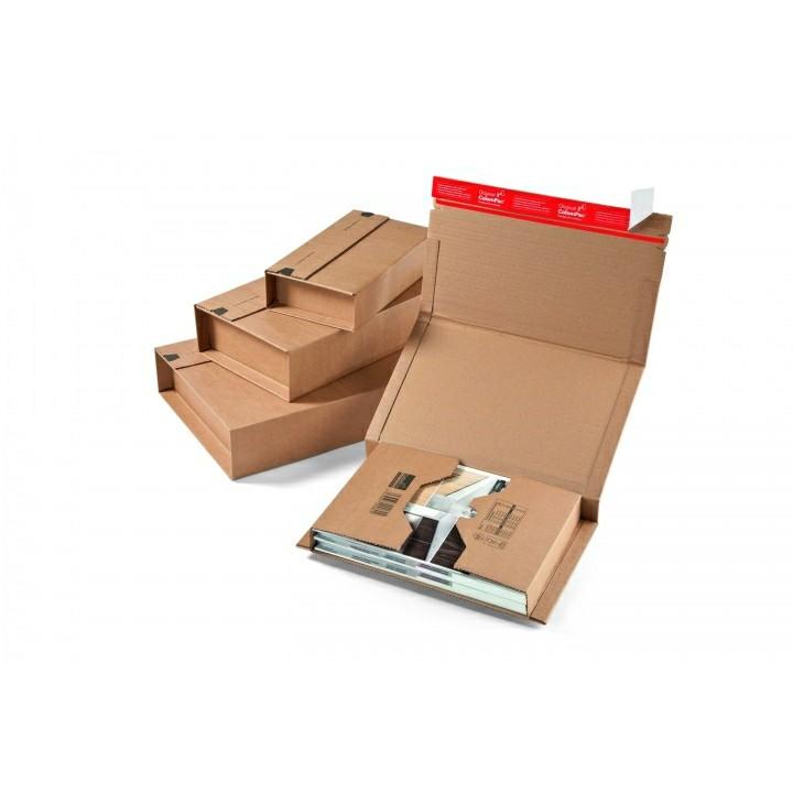 Bogpack - med limlukning 350 x 260 x 70 mm CP035.04