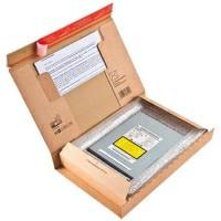 Bogpack æske - med limlukning 215 x 155 x 43 mm