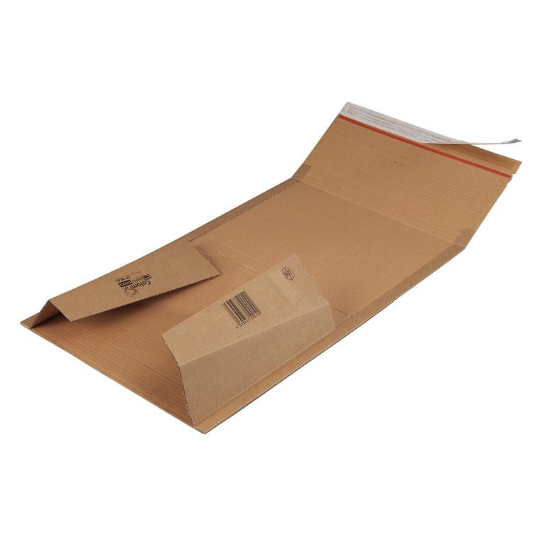 Bogpack til brevordnere - med limlukning 320 x 290 x 35-80 mm