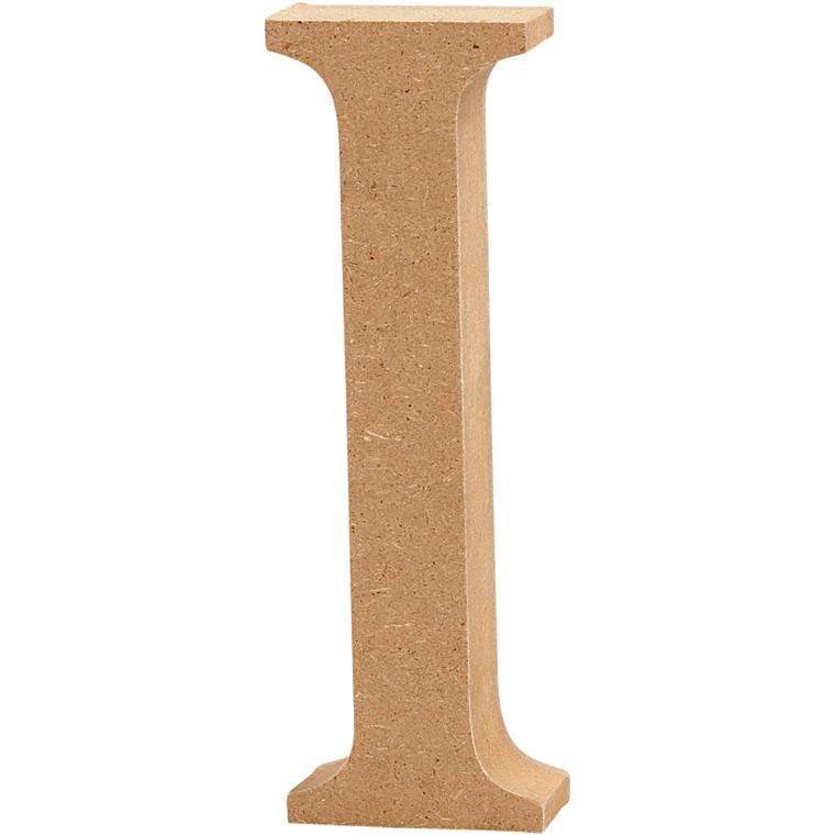 Bogstav højde 8 cm tykkelse 1,5 cm MDF | I