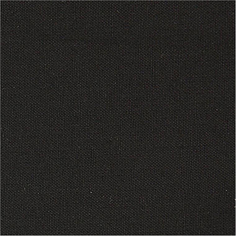 Bomuldsstof, B: 145 cm, 140 g/m2, sort, 1lb.m.