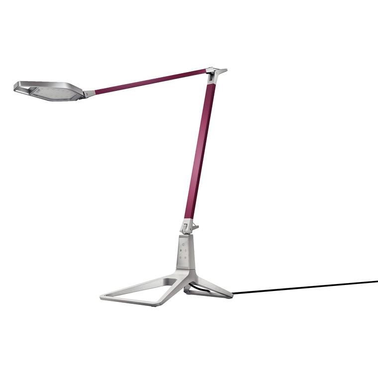 Leitz Style Smart LED Skrivebordslampe - Granat rød