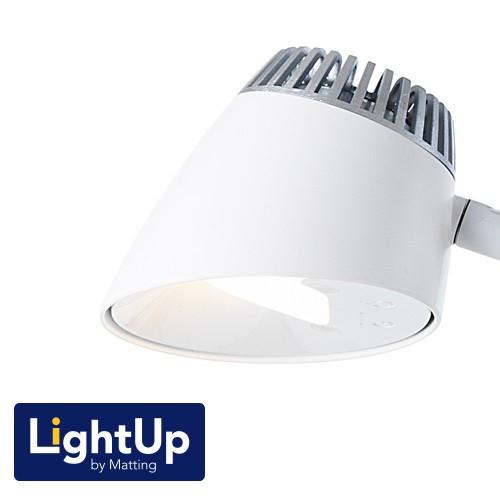 Bordlampe LightUp by Matting Napoli hvid