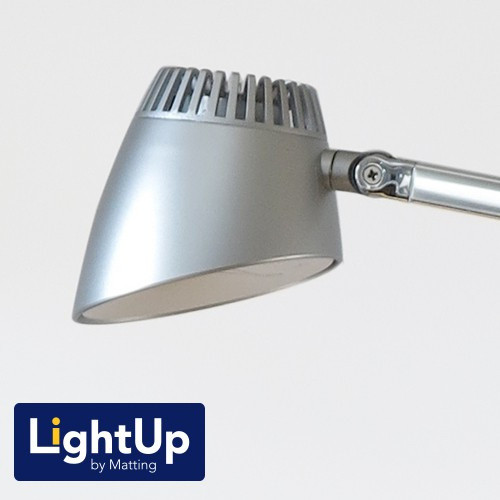 Bordlampe LightUp by Matting Napoli silver