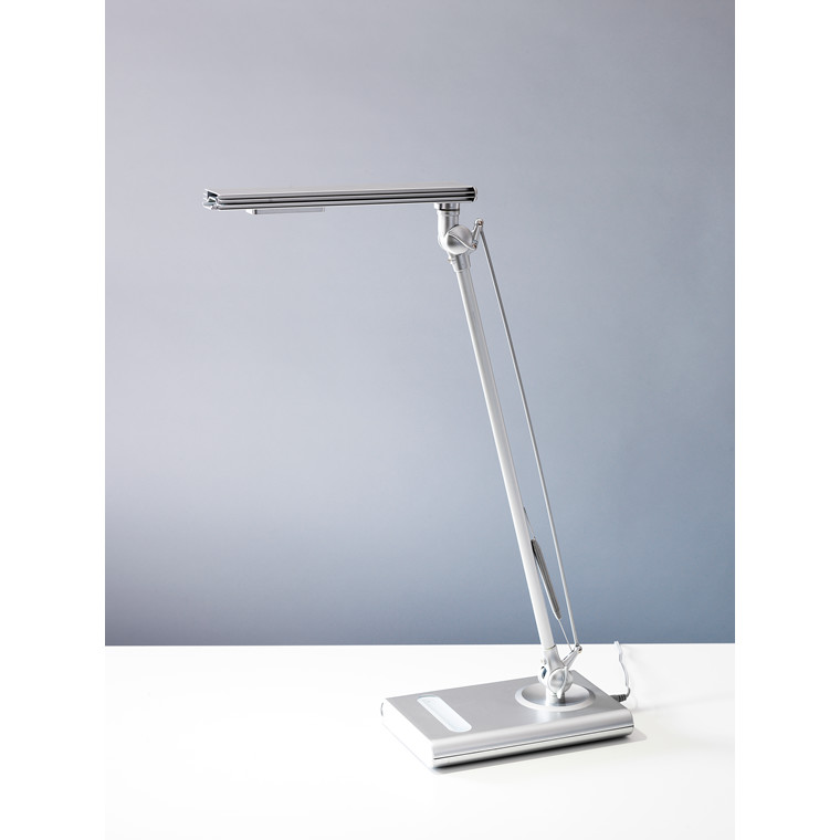 Sølvfarvet Arbejdslampe - Paris LightUp by Matting