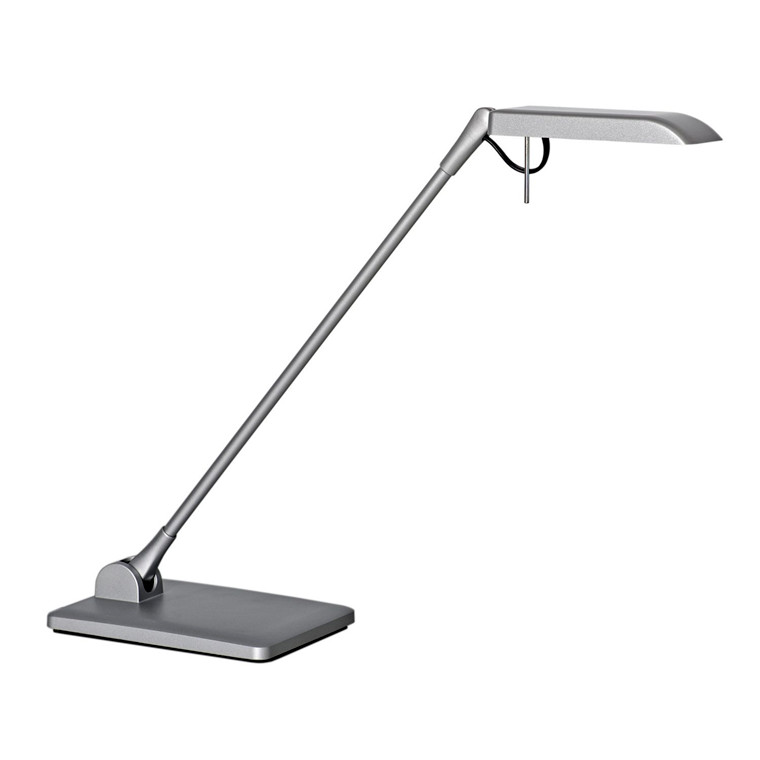 Luxo Terea Bordlampe LED - Alufarvet med bordfod