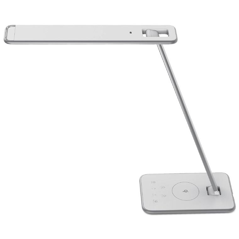 Bordlampe Unilux Jazz LED med USB-port og trådløs oplader