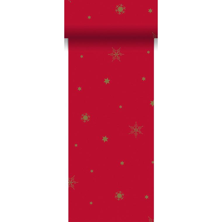 Bordløber Glittering stars rød 15 cm x 20 meter - 6 ruller