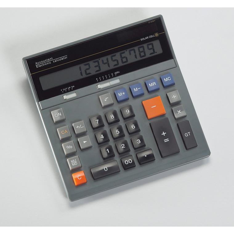 Bordregner - Revisor model med 12 cifre