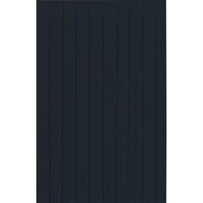 Bordskørt dunicel, Dunicel, sort, papir, 72cm x 400cm
