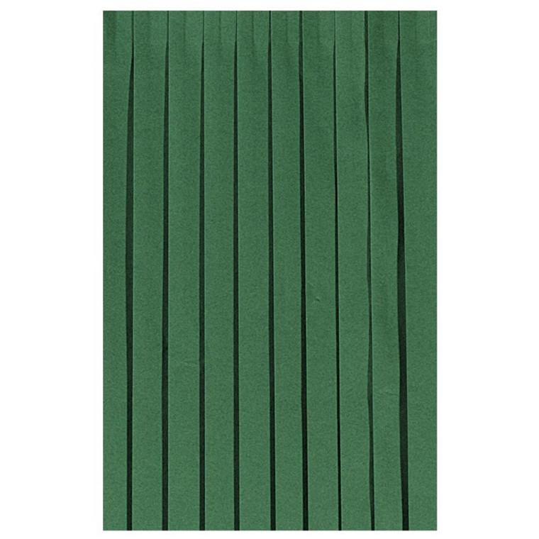Bordskørt Dunicel mørkegrøn 72 cm x 4 meter - 009063 - 5 stk.