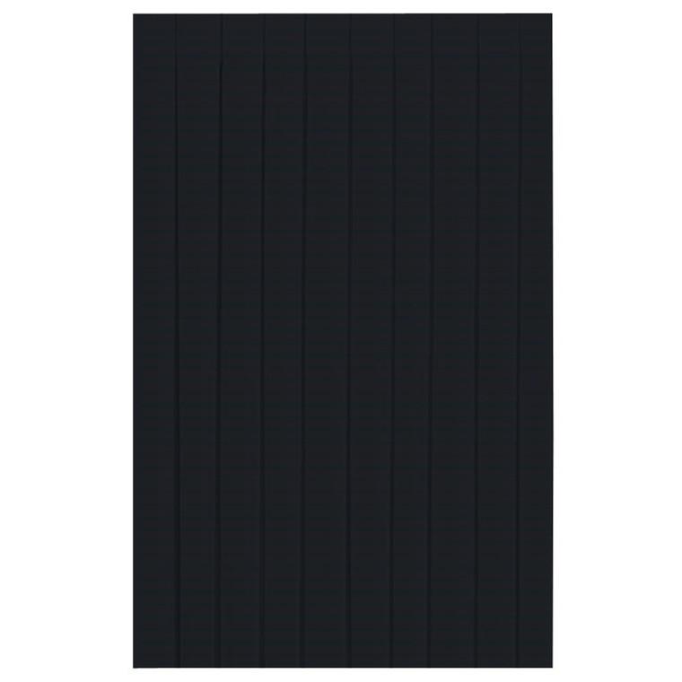 Bordskørt Dunicel sort 72 cm x 4 meter - 009073 - 5 stk