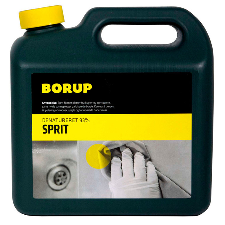 Borup Sprit Denatureret 93% - 2,5 liter