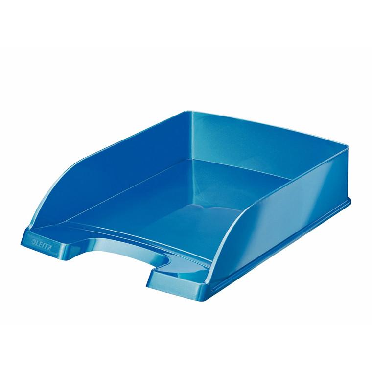 Brevbakke A4 Leitz Plus WOW Standard - blå