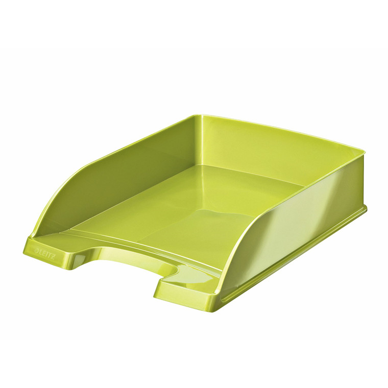 Brevbakke A4 Leitz Plus WOW Standard - limegrøn