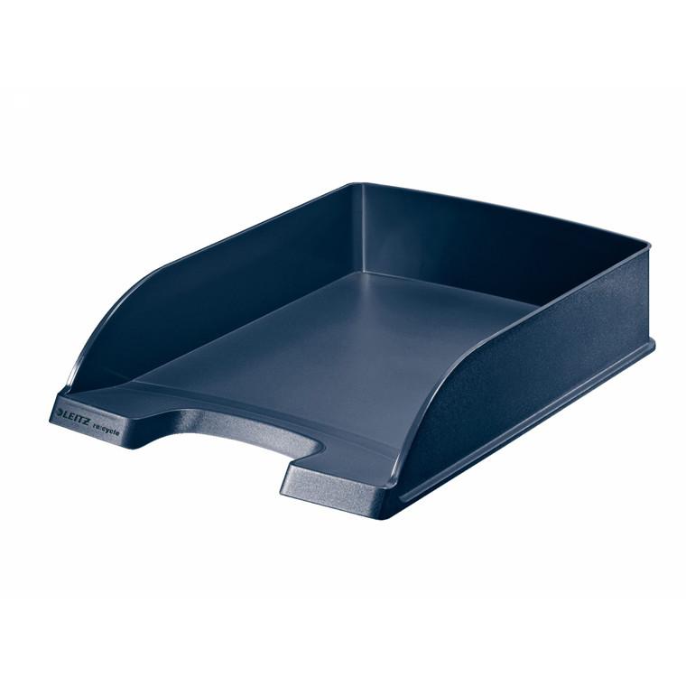 Brevbakke Leitz Plus recycle standard - A4 blå