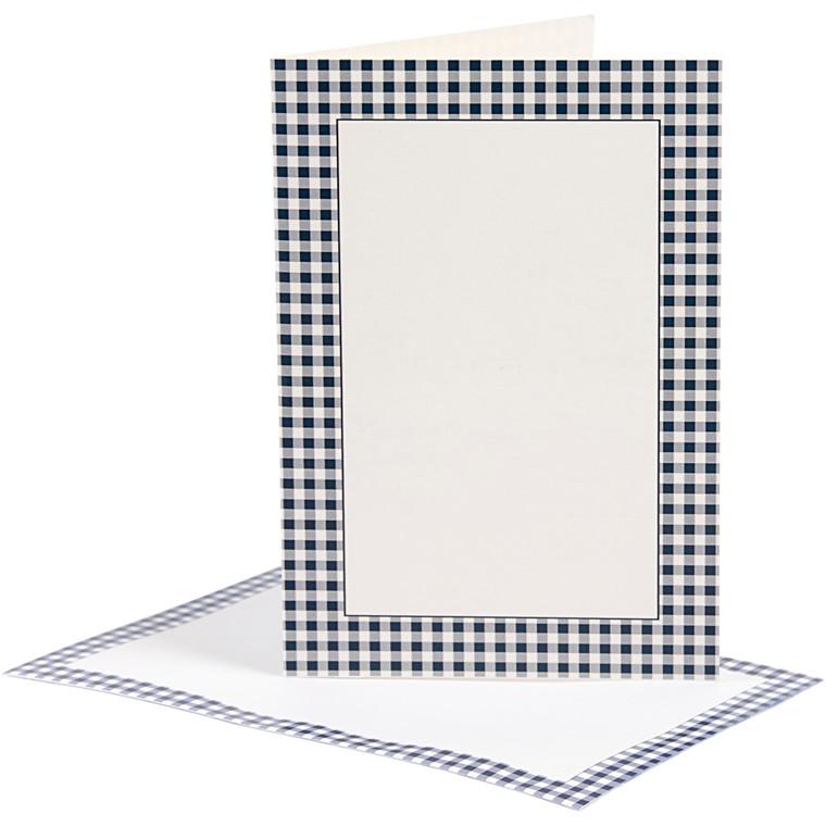 Brevkort med kuvert, kort str. 10,5x15 cm, 210 g, London, 5sæt