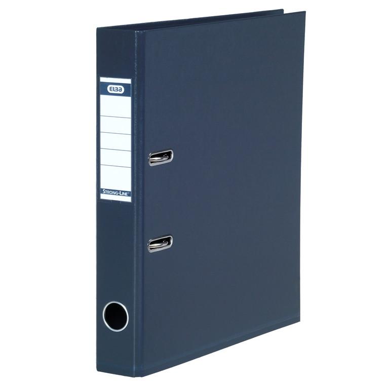 ELBA A4 brevordner antracitgrå 1415-25 Strongline - 50 mm ryg