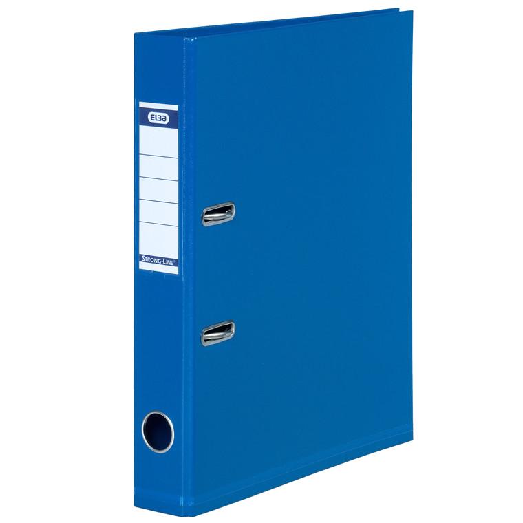 ELBA Strongline brevordner A4 med 50 mm ryg - blå 1415-01