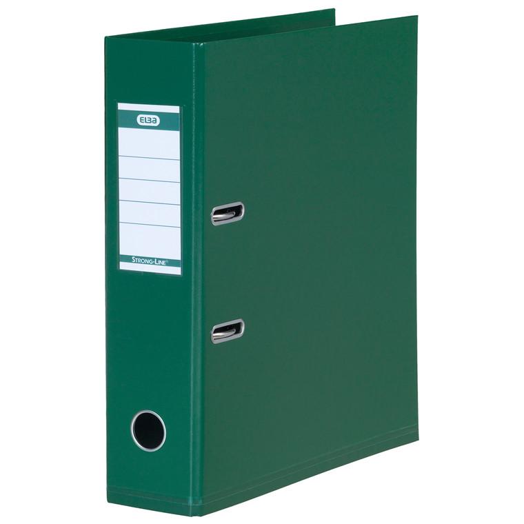 Brevordner ELBA PP A4 grøn bred 1414-04