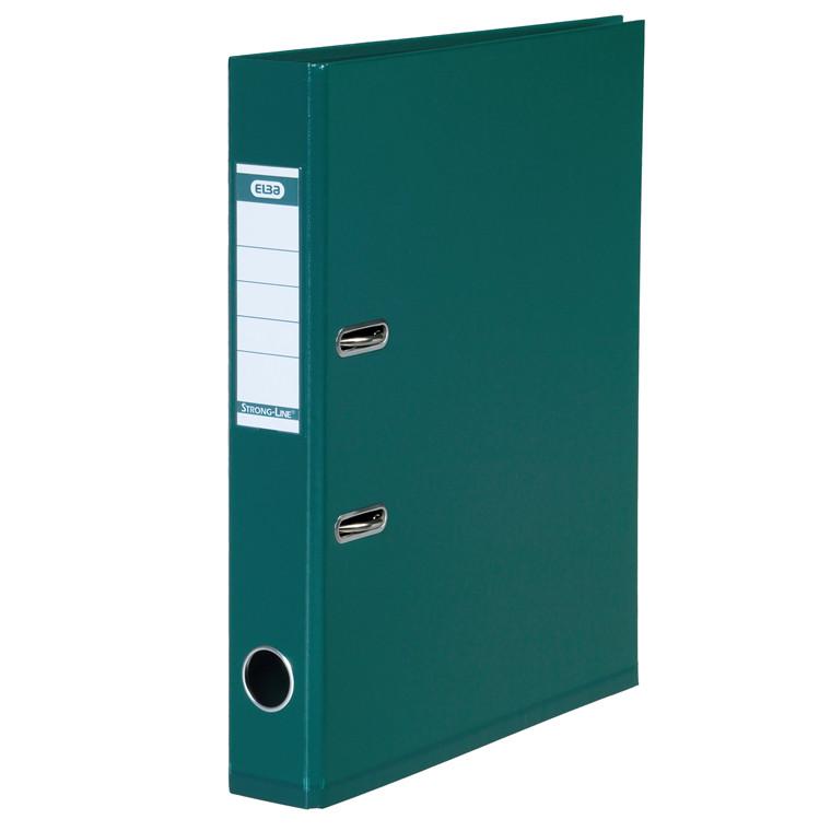 Brevordner ELBA PP A4 grøn smal 1415-04