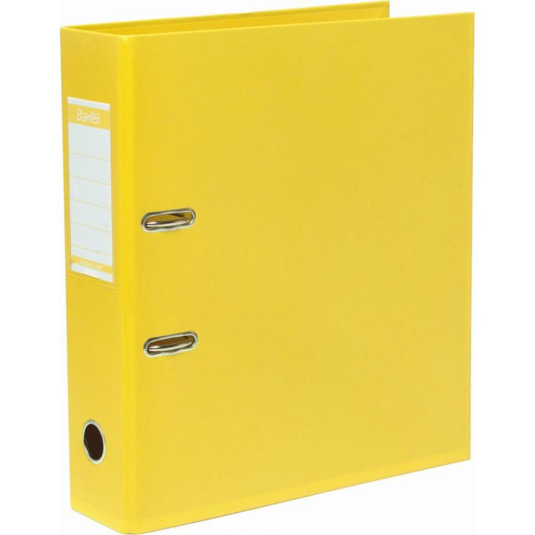 Brevordner ELBA Strongline 1414-06 gul - A4 med 80 mm ryg