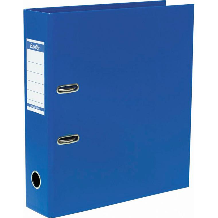 Bantex brevordner ELBA Strongline 1414-11 koboltblå - A4 med 80 mm ryg