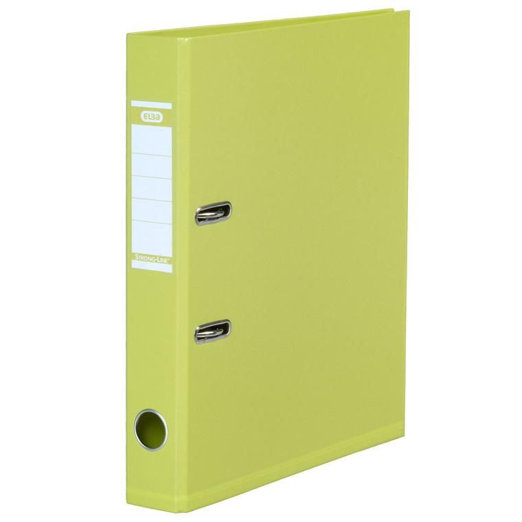 ELBA A4 brevordner limegrøn 1415-24 Strongline - 50 mm ryg