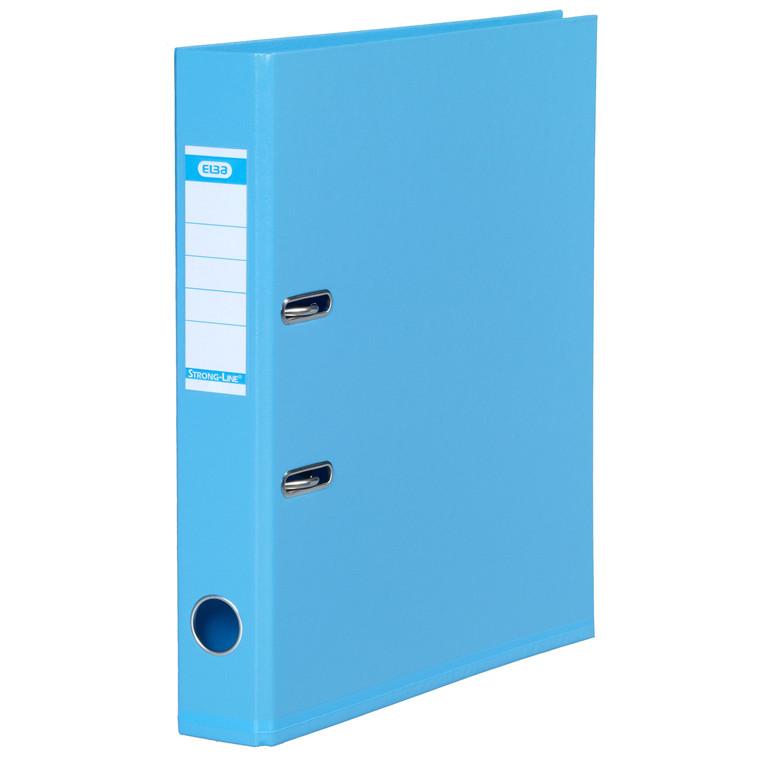 ELBA A4 brevordner lyseblå 1415-23 Strongline - 50 mm ryg