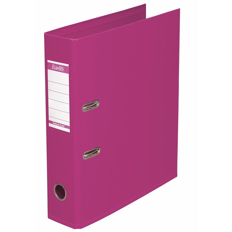 Brevordner ELBA Strongline 1414-19 Pink - A4 med 80 mm ryg