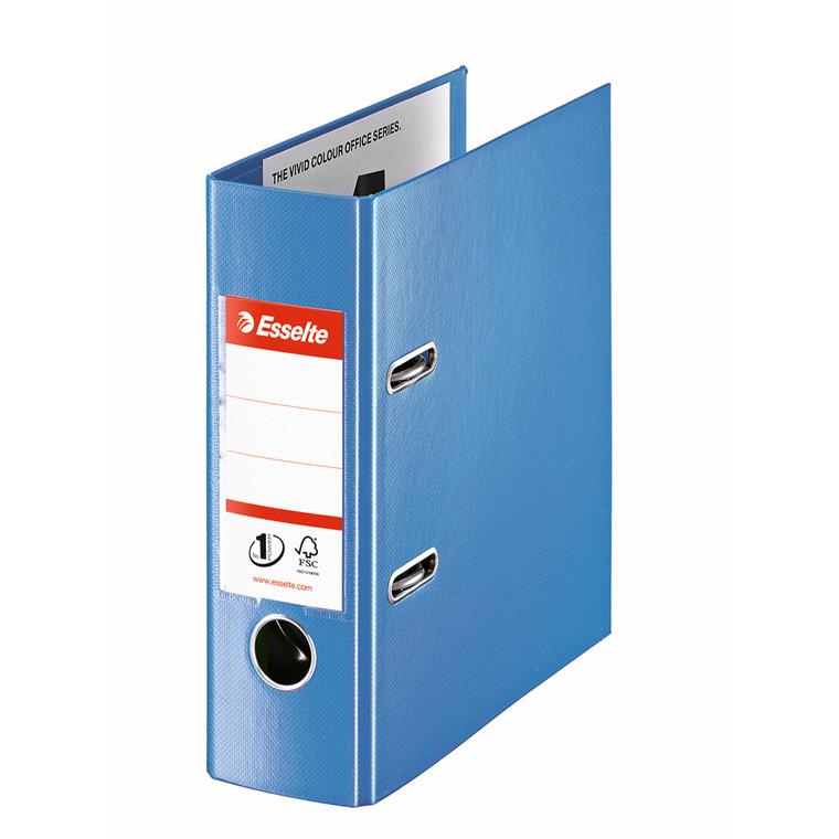 Brevordner Esselte blå No1 A5 bred 468650