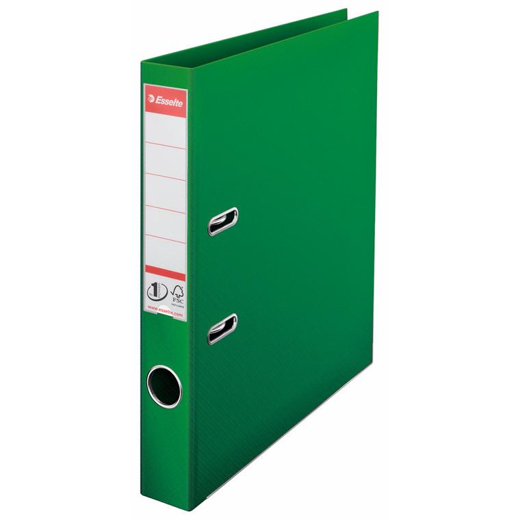 Brevordner Esselte No. 1 A4 grøn med 50 mm ryg - 811460