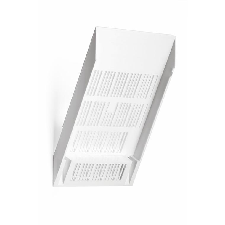 Bakke udvidelse til Flexiboxx Brochureholder A4 - 1 hvid stående