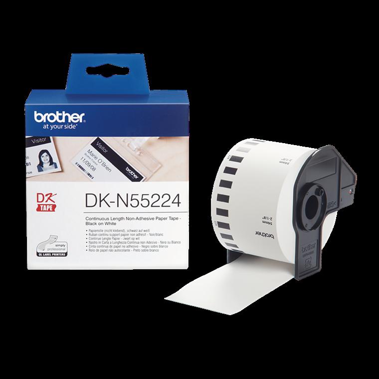 Brother DK-N55224 - Papirtape uden klæb 54 mm