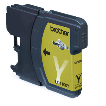 Brother LC1100Y ink cartridge yellow