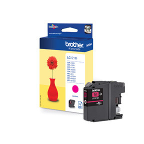 Brother LC121M ink cartridge magenta