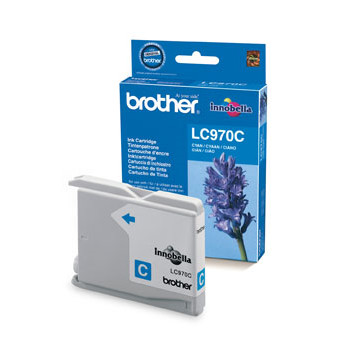 Brother LC970C ink cartridge cyan 350 pages