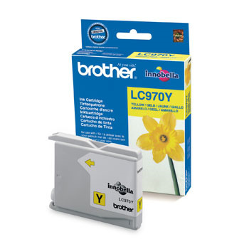 Brother LC970Y ink cartridge yellow 350 pages
