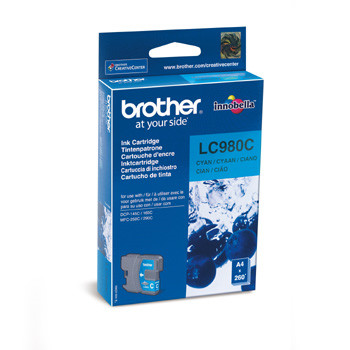 Brother LC980C ink cartridge cyan 260 pages